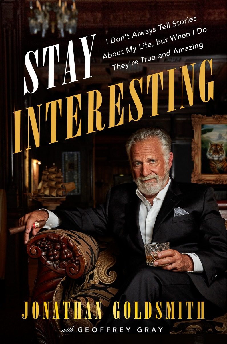 to actor jonathan goldsmith 58 the former face of dos equis beer