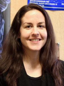 Professor Joelle Renstorm, Professor of Rhetoric.