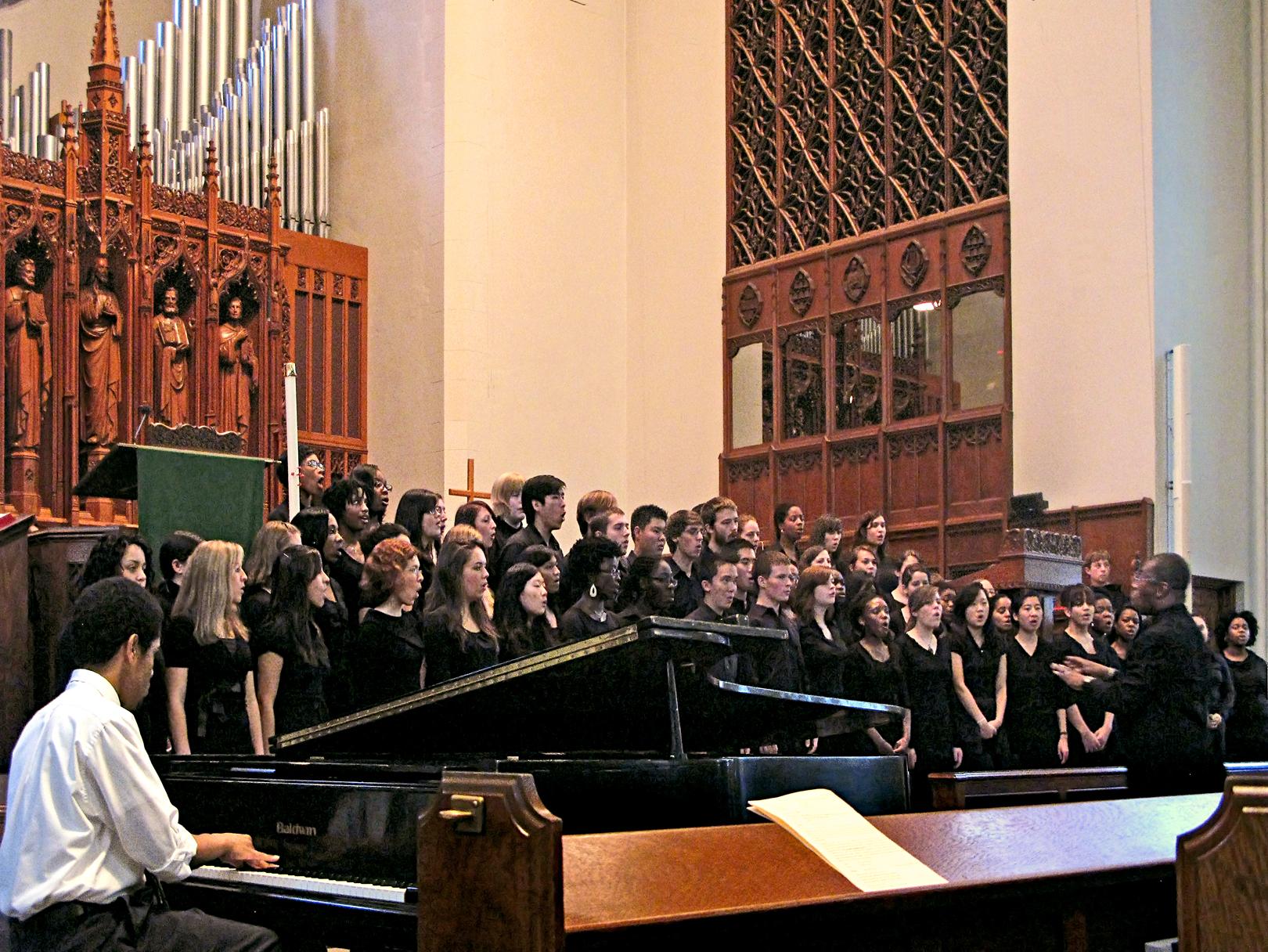 Inner Strength Gospel Choir » Marsh Chapel | Boston University