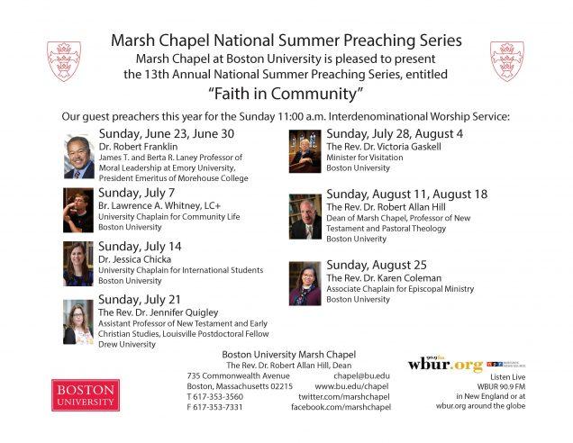 Marsh Chapel | Boston University