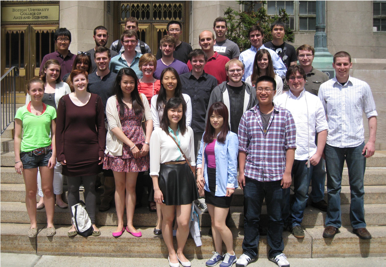 Class Of 2013 187 Chemistry Boston University