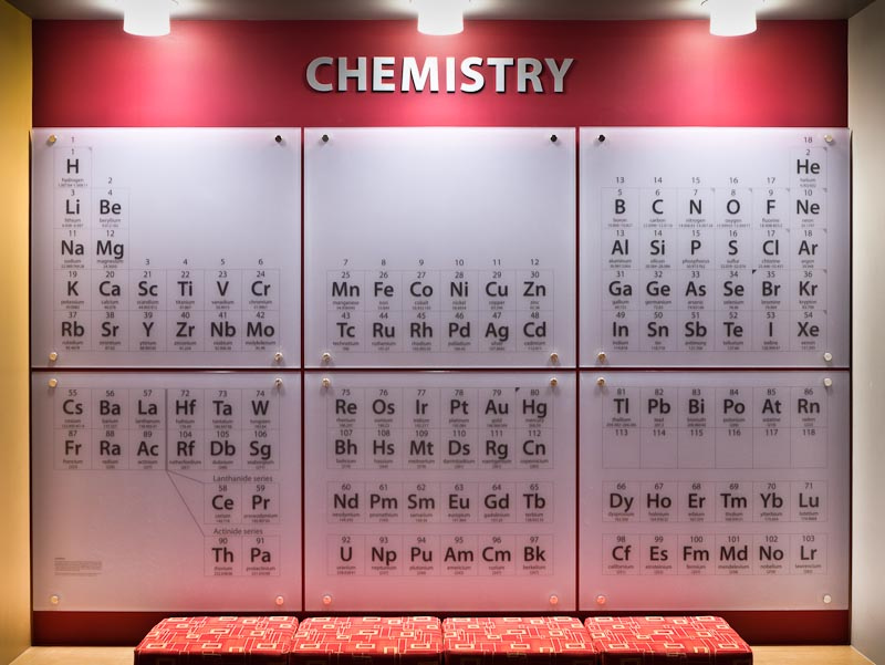 Chemistrys New Periodic Table Chemistry Blog Archive Boston