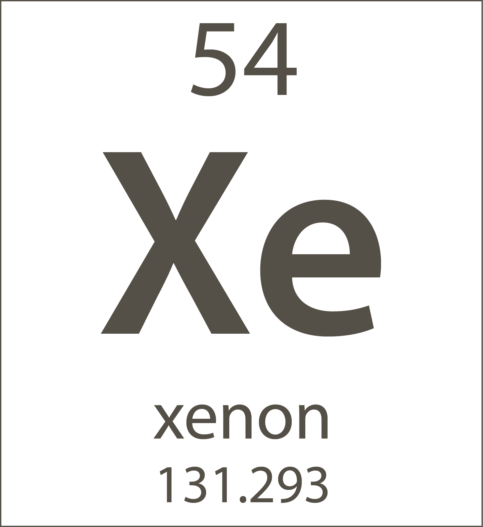 Chemistrys new periodic table chemistry blog archive xenon gamestrikefo Choice Image