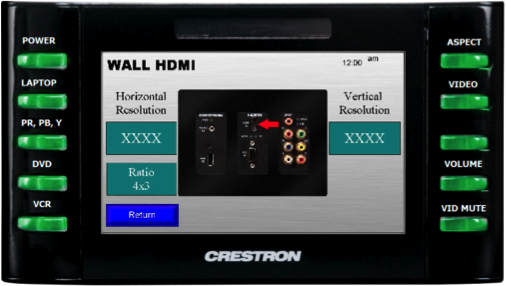 Crestron TPMC-4SM Control Panel (Generation 1B with Computer