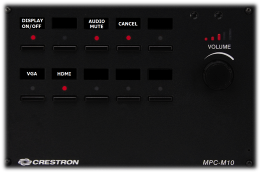 Crestron Mpc M10 Control Panel 187 Classrooms Blog Archive