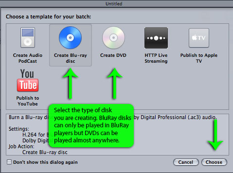 Creating a Blu-Ray or DVD Disk | Technology Services