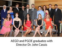 AEGD and PGOE Residents Honored at Graduation Reception