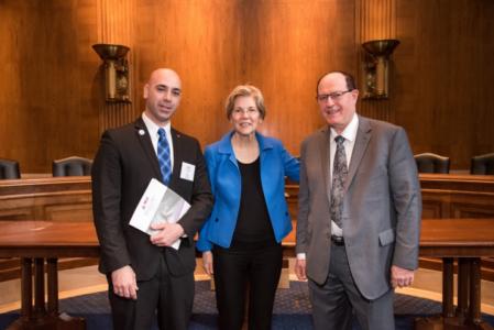 Dr  David Dano Meets with U S  Legislators to Discuss Oral