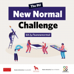 The New Normal Challenge image with students working together