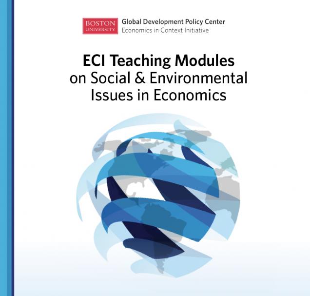 Teaching Modules Economics In Context Initiative
