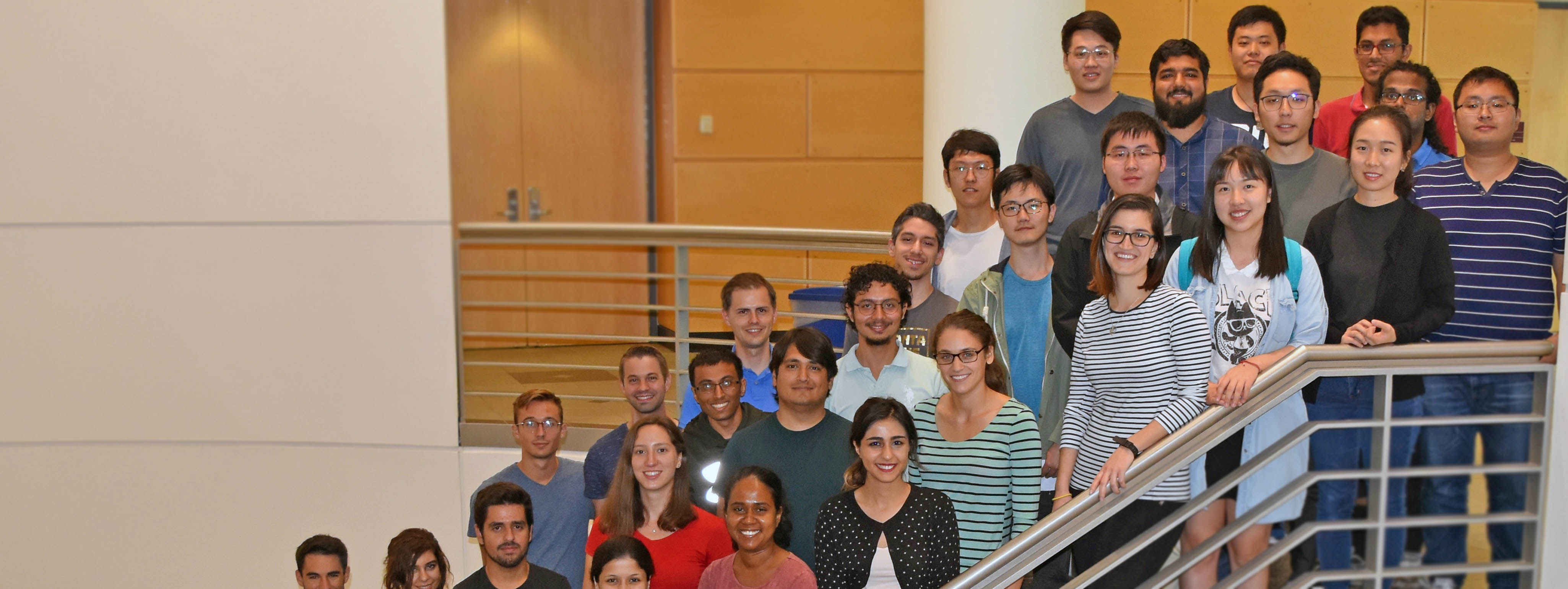 ECE PhD Students, Incoming 2017 Class