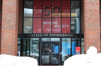 Boston University's College of Engineering receives a $3.36 million grant from Oak Ridge National Laboratory to develop smart car technology. PHOTO BY MAE DAVIS/ DAILY FREE PRESS STAFF