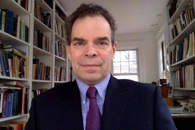 Professor Michael Prince, Professor of English.