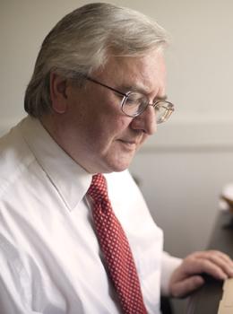 Professor Archie Burnett, Professor of English.