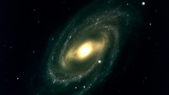 galaxy M109 seen from The Discovery Channel telescope, Lowell Observatory, Flagstaff, Arizona