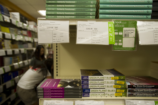 Used College Textbooks >> How To Save On Textbooks Bu Today Boston University