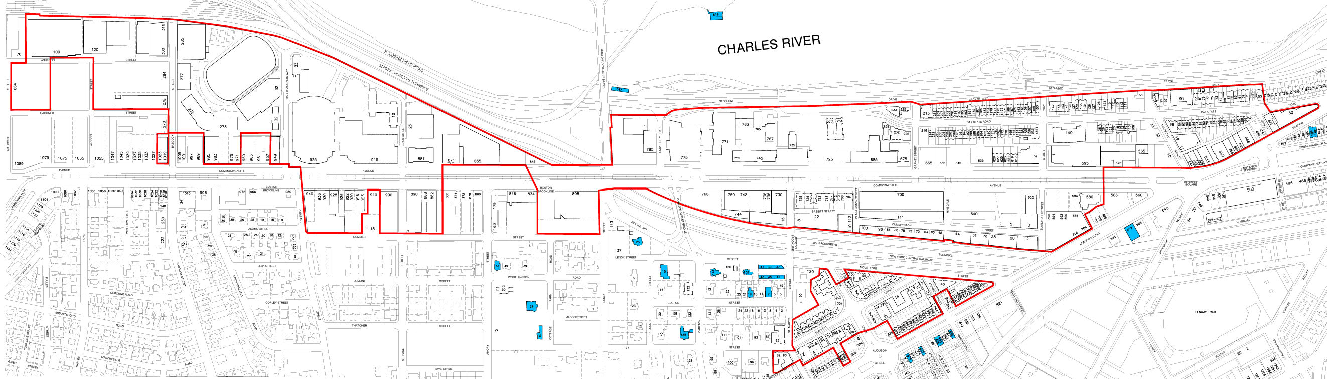 boston university charles river campus map Alcohol Arrests Summonses Nearly Doubled In 2011 Bu Today boston university charles river campus map