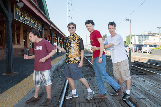 Asperger's Are Us sketch comedy troupe, Ethan Finlan, New-Michael Ingemi, Jack Hanke, Noah Britton