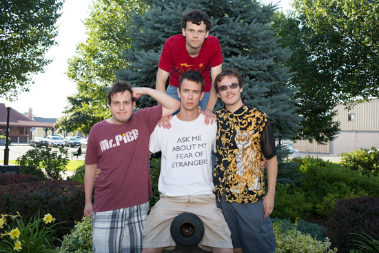 Asperger's Are Us sketch comedy troupe, Jack Hanke, New-Michael Ingemi, Noah Britton, Ethan Finlan