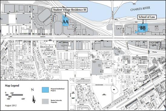 boston university charles river campus map Mayor Signs Off On Bu Master Plan Bu Today Boston University boston university charles river campus map