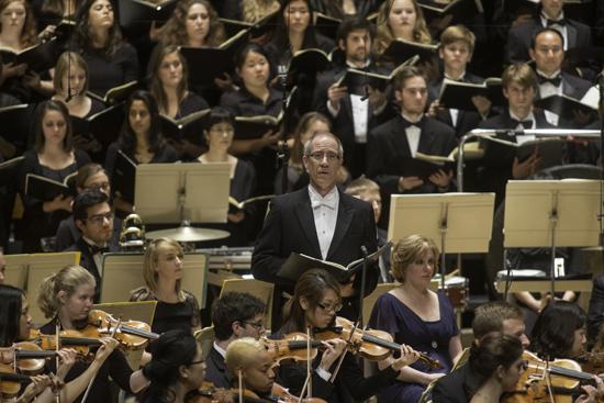 BU Symphony Orchestra and Symphonic Chorus Star at Symphony