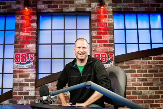 Talking Sports with Mike Felger | BU Today | Boston University
