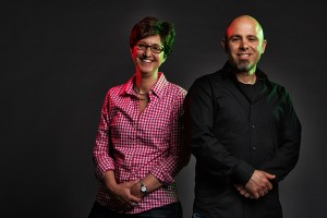 Associate Professors Jennifer Luebke and Tarik Haydar