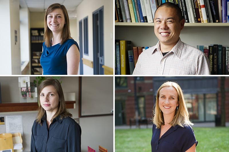 Four Junior Faculty Awarded Peter Paul Professorships | The Brink