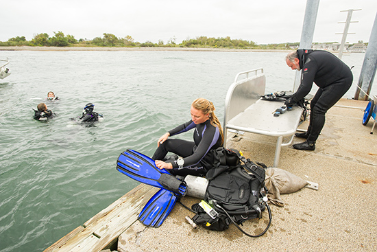 BU Marine Program Scientific Diving Class | BU Today