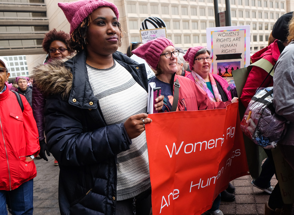 ae4757b5e Students, Faculty, Staff Participate in Women's March on Washington ...