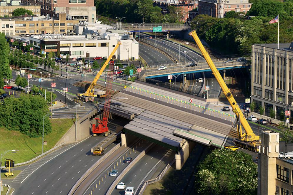 MassDOT Construction Closes Comm Ave Bridge for Two-Plus
