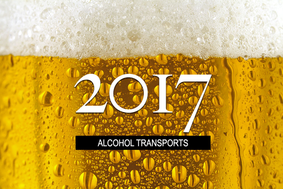 2017 Alcohol Transports