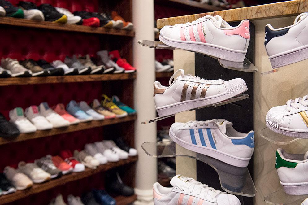 55b52eacb42 Calling All Sneakerheads! | BU Today | Boston University