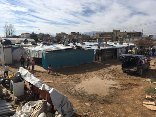 Improving Life in Syrian Refugee Camps | BU Today | Boston University