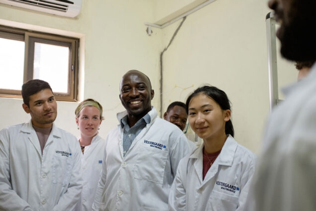 Students traveled to Ghana to participate in Accra Global Health study abroad program.