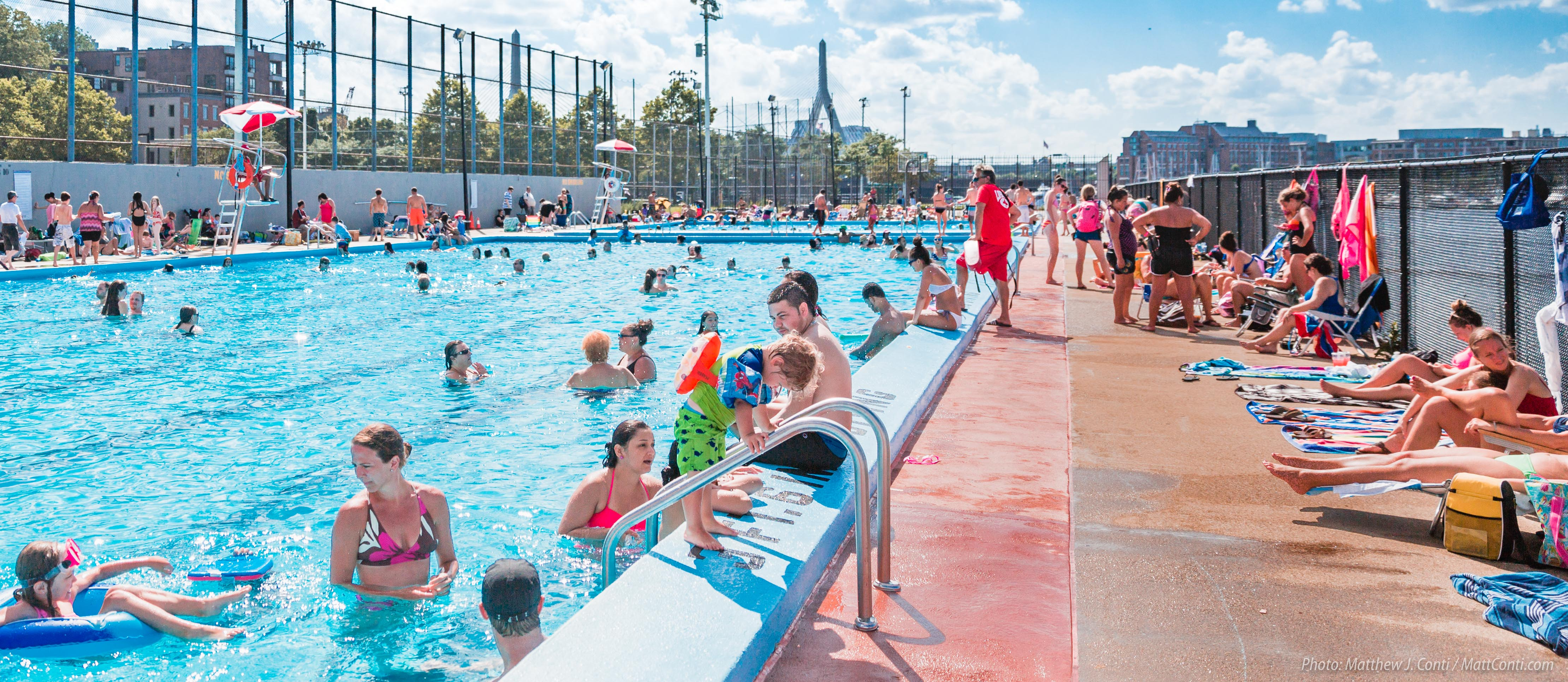 Cool Off With A Dip In A City Pool Bu Today Boston University