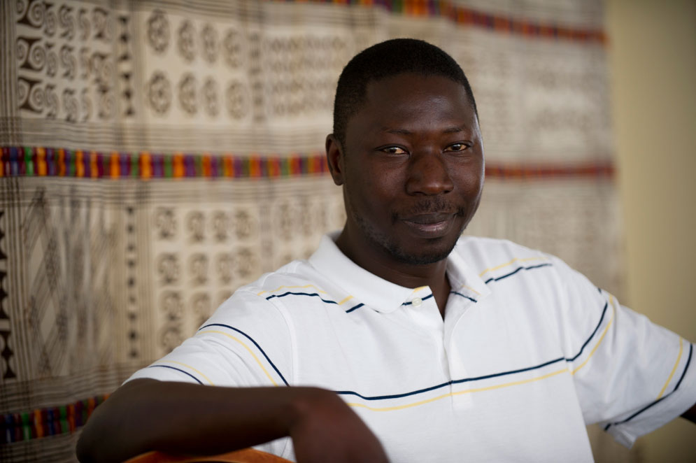 Fallou Ngom, director of the African Studies Center