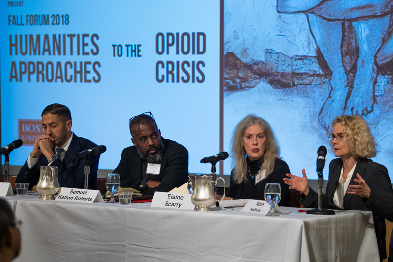 Center for the Humanities panel on Humanities Approaches to the Opioid Crisis