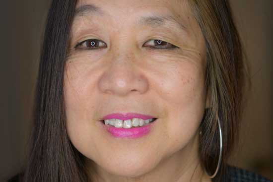 a portrait of Marilyn Chin