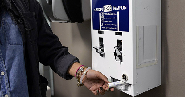 Should Colleges Make Tampons Free on Campus? | BU Today | Boston ...