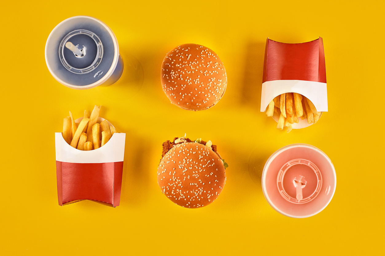 fast food visual