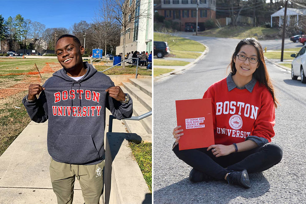 Early Decision Applications to BU Surge | BU Today | Boston