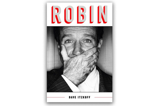 The book cover of Robin by Dave Itzkoff