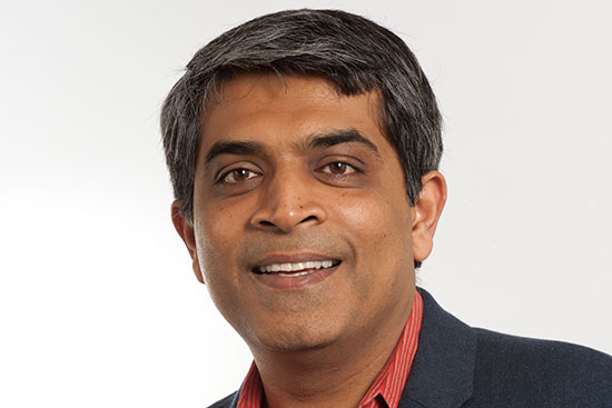 Portrait of Boston University College of Engineering professor Siddharth Ramachandran.