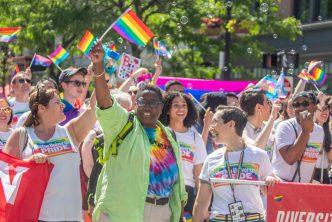 Pride and bubbles | BU Today | Boston University