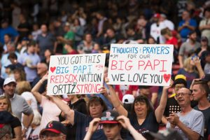 Red Sox fans in solidarity with David Ortiz