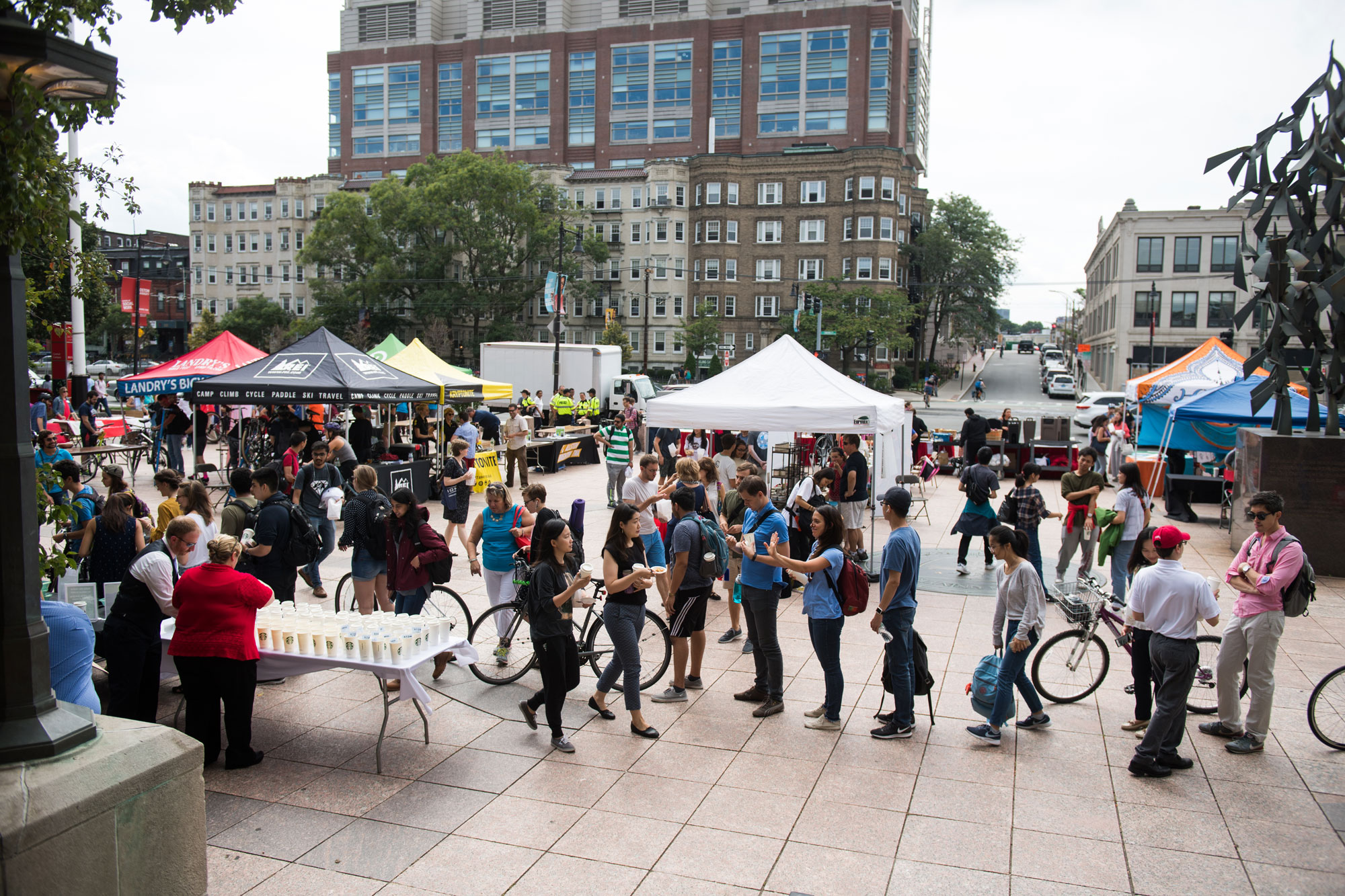 Annual Sustainability Festival on Marsh Plaza