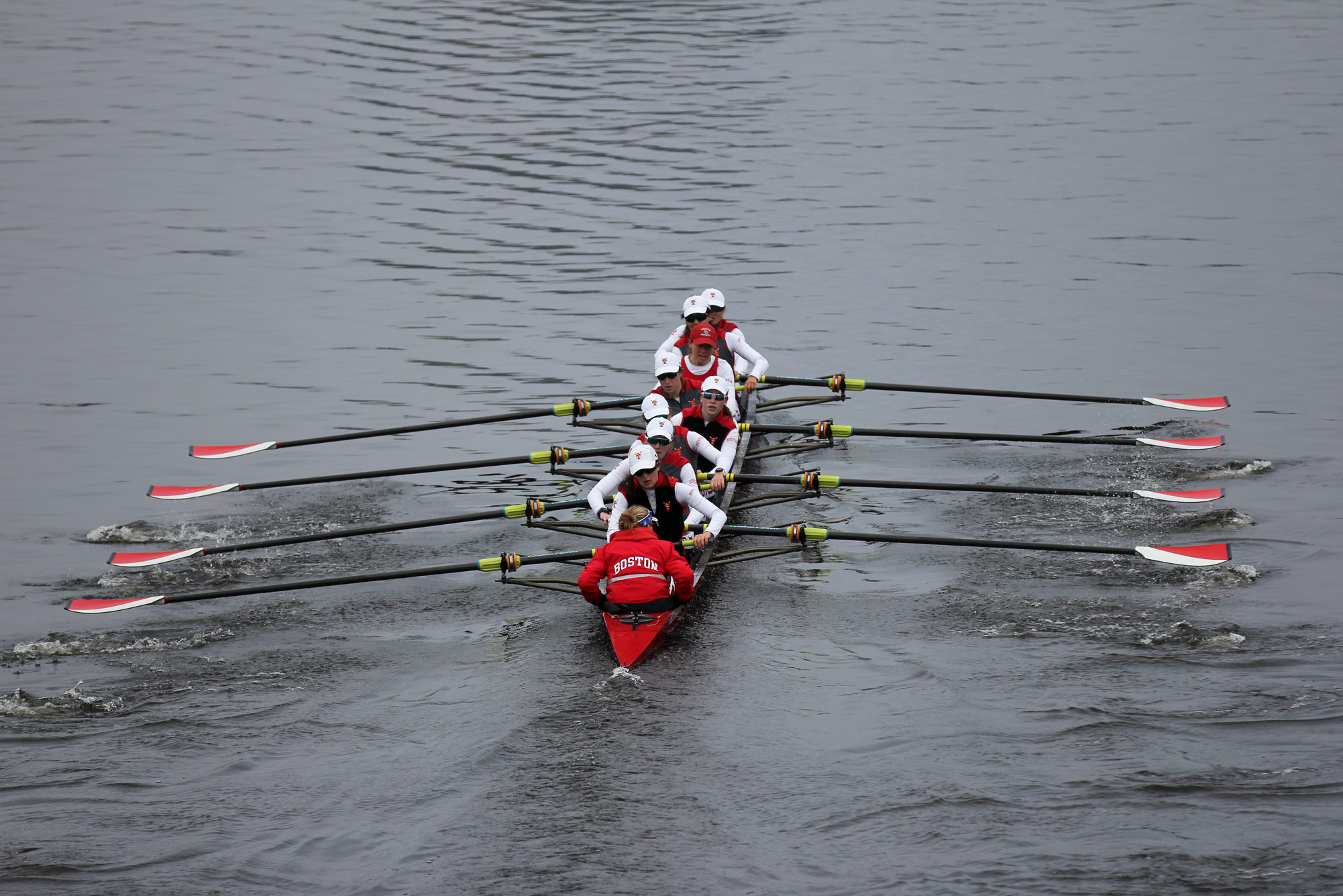 BU Women's lightweight rowing team
