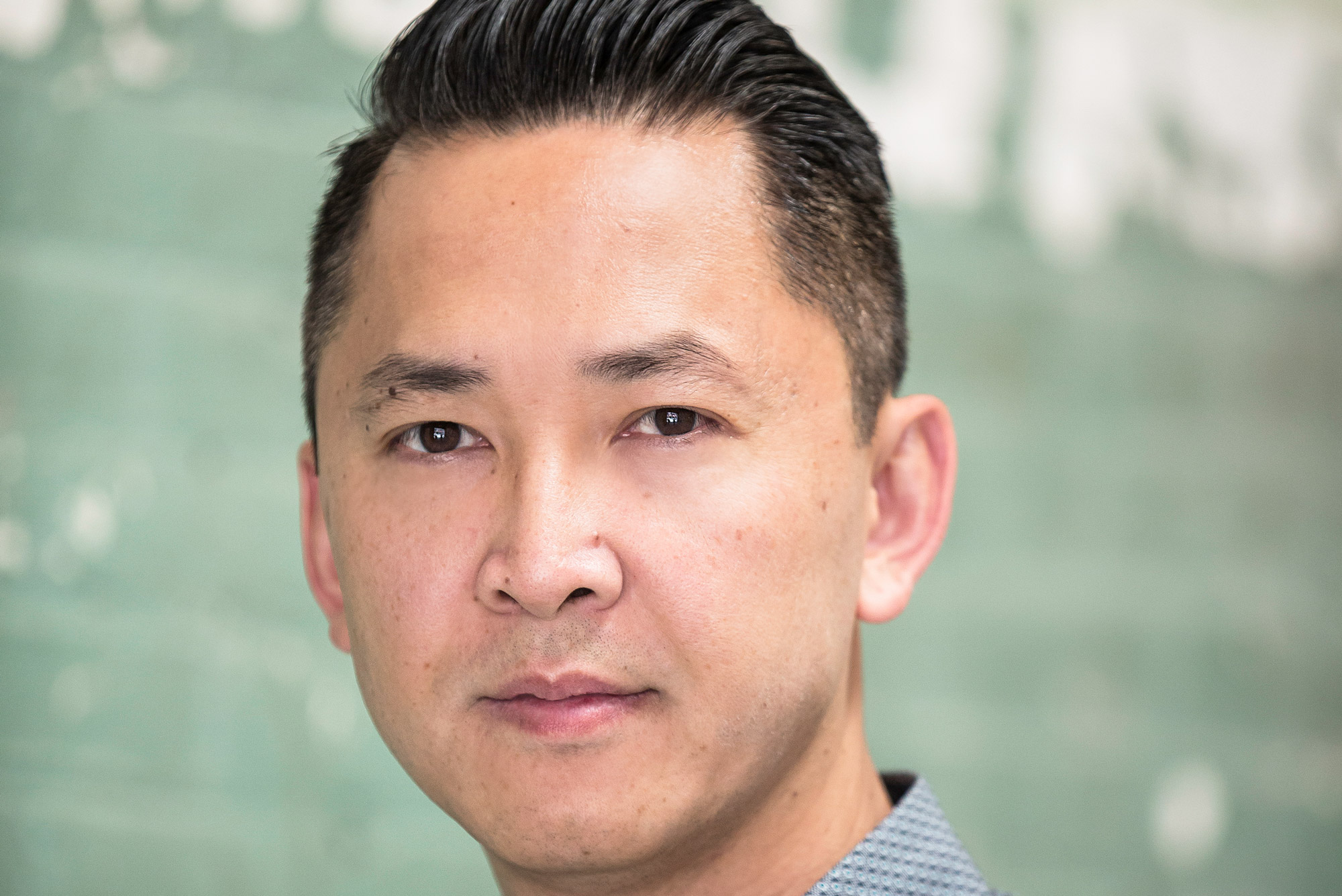 A portrait of Viet Thanh Nguyen who will be delivering the 2019 Ha Jin Lecture