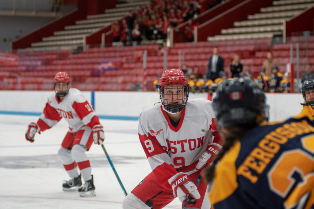 Women's Ice Hockey's Abby Cook Looks to End Career on a High Note